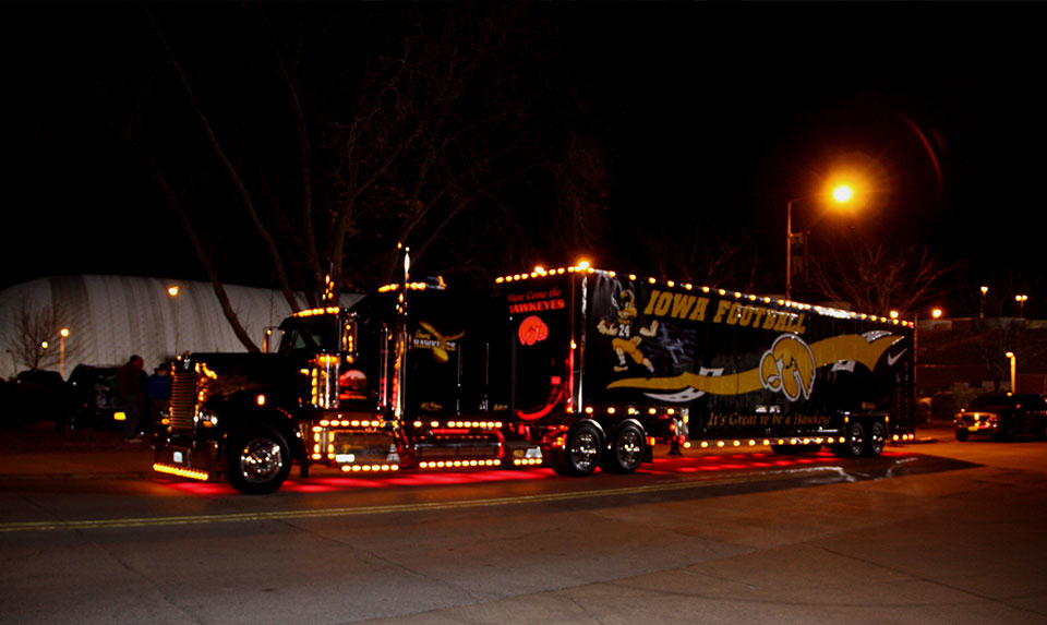 Iowa Hawkeye Semi Truck