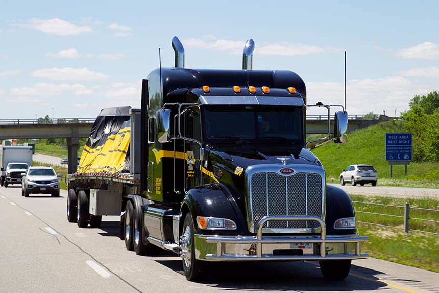 Flatbed Trucking Company in Iowa